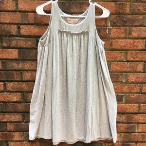 Philosophy Gray Jersey Knit Sleeveless Dress Small